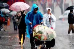 Meteoroloji'den 3 İl İçin Yağış Uyarısı