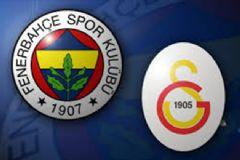 Fenerbahçe Ve Galatasaray Derbisinin İlk 11'leri Belli Oldu