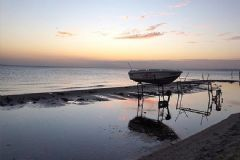 Marmara Ereğlisi'nde Deniz 10 Metre Çekildi