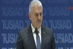 Başbakan Binali Yıldırım TUSİAD Toplantısında