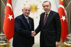 Erdoğan, TBMM Başkanı Kahraman'ı Kabul Etti