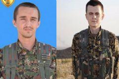 Öldürülen YPG'li Teröristler ABD'li Ve Alman Çıktı