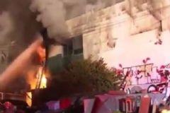 ABD'de Korkunç Olay! Konserde Yangın Faciası