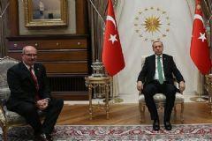 Cumhurbaşkanı Erdoğan ATO Başkanı Baran'ı Kabul Etti