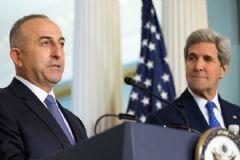 Çavuşoğlu, John Kerry ile Halep'i Görüştü