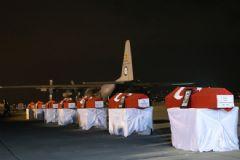 Kayseri'de Şehit Olan Askerlerimize İlk Tören