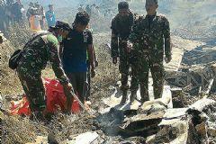 Endonezya'da Uçak Düştü! 13 Ölü