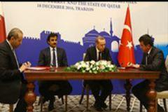 Trabzon'da Katar Ve Türkiye Arasında İmzalar Atıldı