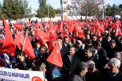 Hakkari'de Terör Protestosu