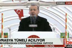 Cumhurbaşkanı Erdoğan Avrasya Tüneli'nin Açılışında Konuştu