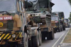 Gaziantep'ten Suriye Sınırına Askeri Sevkiyat