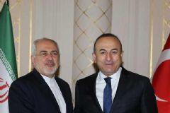 Çavuşoğlu, İranlı Mevkiidaşı ile Görüştü