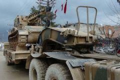 TSK'dan Kilis'e Askeri Sevkiyat