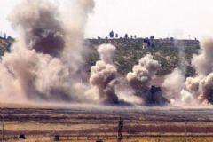 Rus Savaş Uçakları DEAŞ Hedeflerini Vurdu