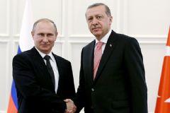 Rusya Lideri Putin'den Erdoğan'a Yeni Yıl Mesajı