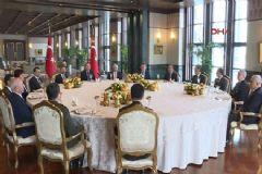 Erdoğan; Yasama, Yürütme Ve Yargı Temsilcileriyle Görüştü