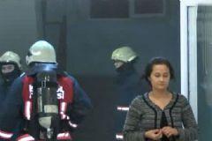 İstanbul Fatih'te Kız Öğrenci Yurdunda Yangın