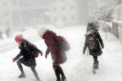 Edirne'de Eğitime Kar Engeli