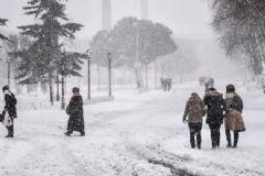 İBB Açıkladı! Kar Kalınlığı 110 Cm