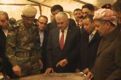 Başbakan Yıldırım, Peşmerge Cephesini Gezdi