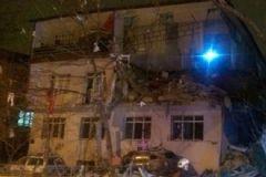 Ankara'da Korkutan Patlama! Bina Çöktü!
