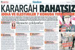 TSK'dan 'Karargah Rahatsız' Manşeti Hakkında Açıklama
