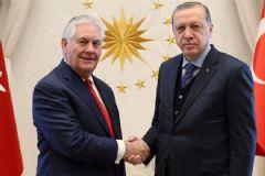 Cumhurbaşkanı Erdoğan ABD Bakanı İle Görüştü
