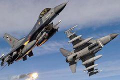 TSK'dan Sincar Ve Suriye'nin Kuzeydoğusuna Hava Harekatı!
