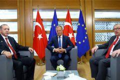 Cumhurbaşkanı Erdoğan AB Liderleriyle Görüştü