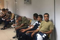 Manisa'da 69 Asker Hastanelik Oldu