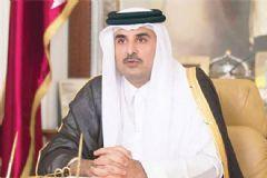 Katar Emiri Türkiye'ye Teşekkür Etti