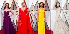 90. Oscar Ödül Töreni'nin Kırmızı Halısında Şıklık Yarışı