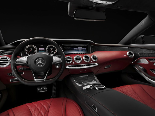 MERCEDES S-SERİSİ COUPE