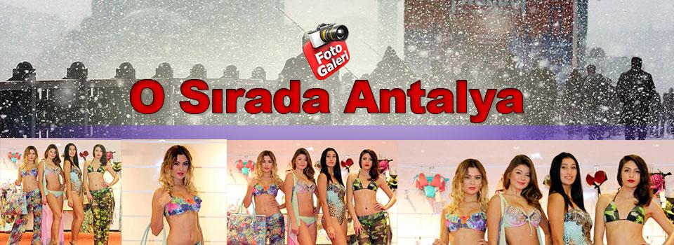 Antalya'da Bikini Tanıtımı