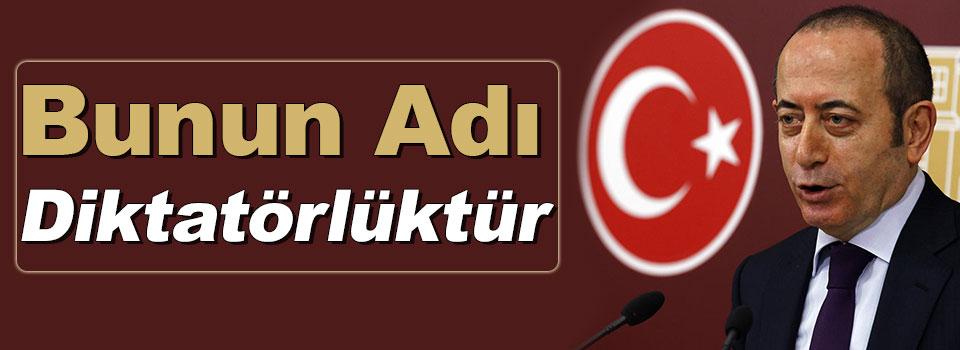 CHP'li Hamzaçebi: 'Bunun Adı Diktatörlüktür'