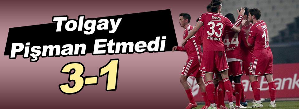 Beşiktaş-Sarıyer Maç Sonucu: 3-1