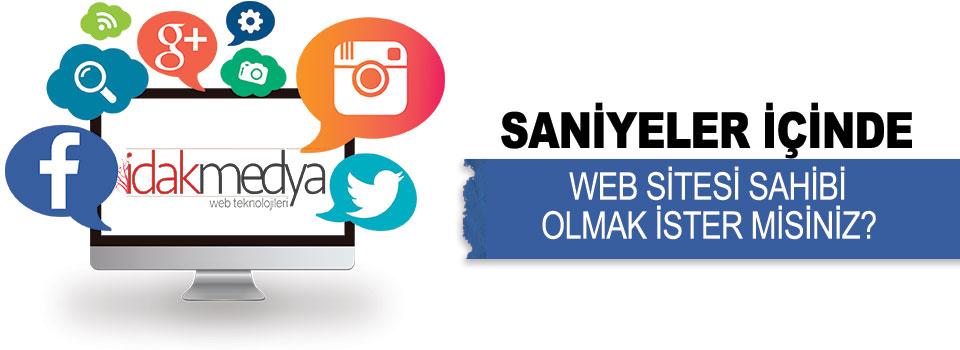 İdak Medya'dan Hazır Web Sitesi Kampanyası