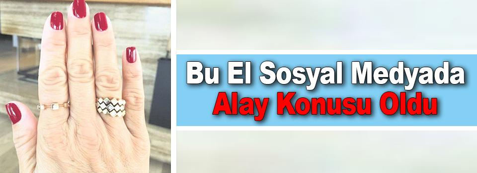 Pınar Altuğ'un Eli Sosyal Medyanın Diline Düştü