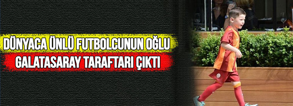 Rooney'nin Oğlu Galatasaray Formasıyla