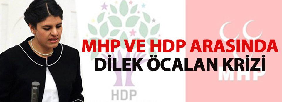 MHP ve HDP Arasında Kriz