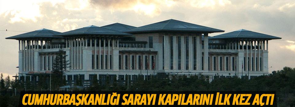 Cumhurbaşkanlığı Sarayı Basına Tanıtıldı