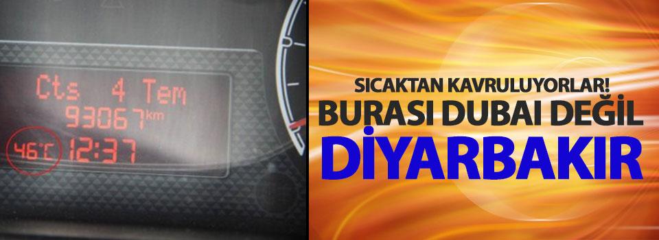 Diyarbakır'da Termometreler 46 Dereceyi Gösterdi