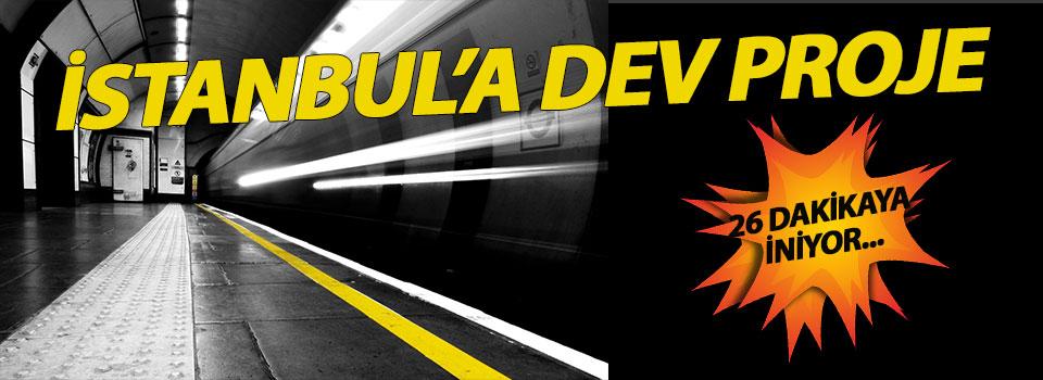 Mecidiyeköy - Mahmutbey Metro İnşaatı Pazartesi Günü Başlıyor