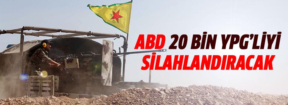 ABD 20 Bin YPG'liyi Silahlandıracak