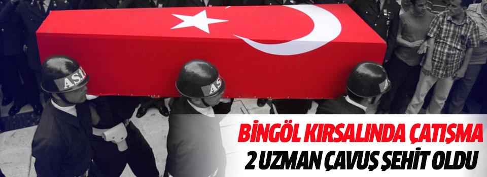 Bingöl Kırsalında Çatışma: 2 Uzman Çavuş Şehit