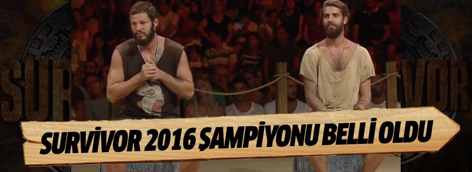 Survivor 2016 Şampiyonu Belli Oldu