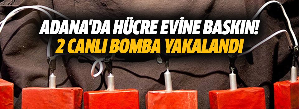 Adana'da Hücre Evine Baskın! 2 Canlı Bomba Yakalandı