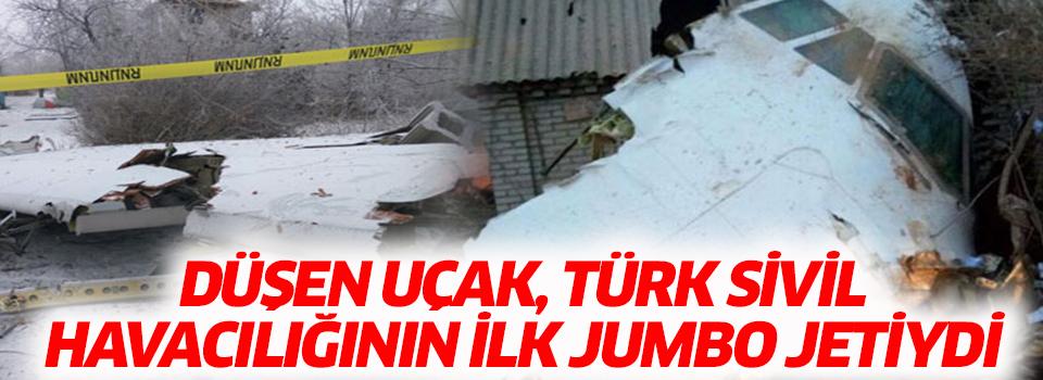 Düşen Uçak, Türk Sivil Havacılığının İlk Jumbo Jetiydi