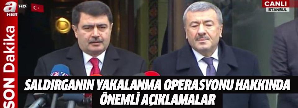 İstanbul Valisi Şahin ve İstanbul Emniyet Müdürü Çalışkan Operasyon Hakkında Konuşuyor