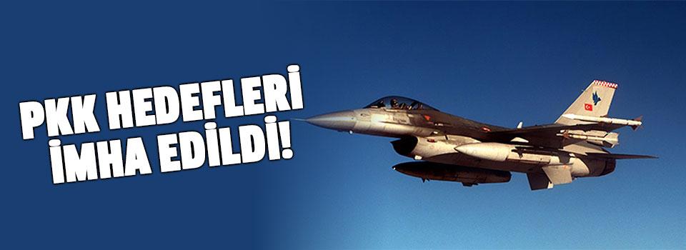 PKK Hedefleri İmha Edildi